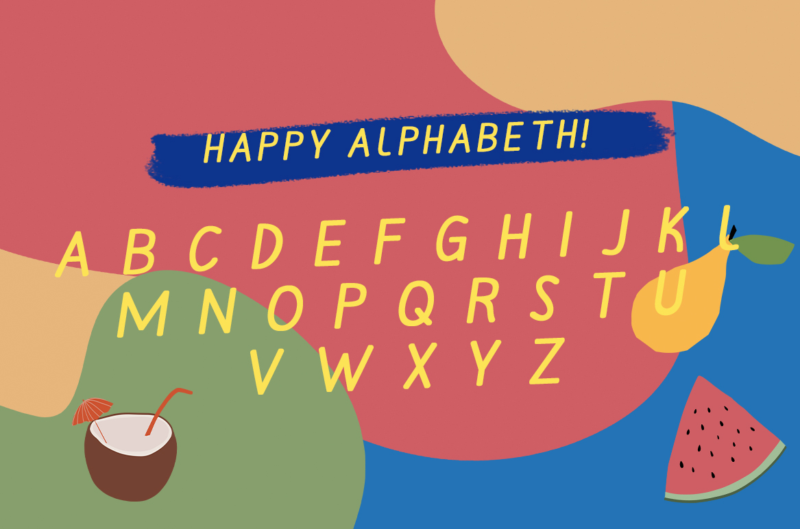 MILLATYNA || Happy Playfull Font example image 14