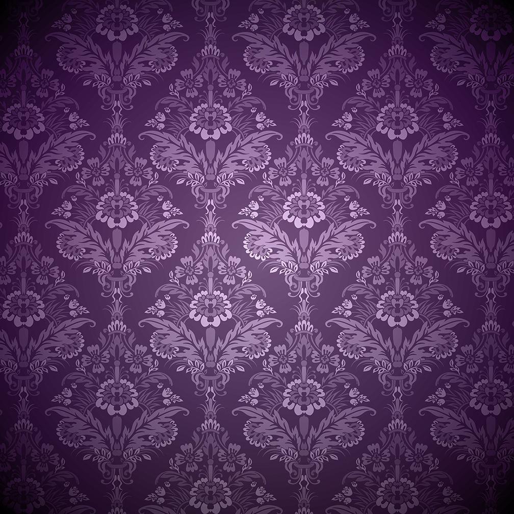 Valentines Purple Digital Paper example image 4