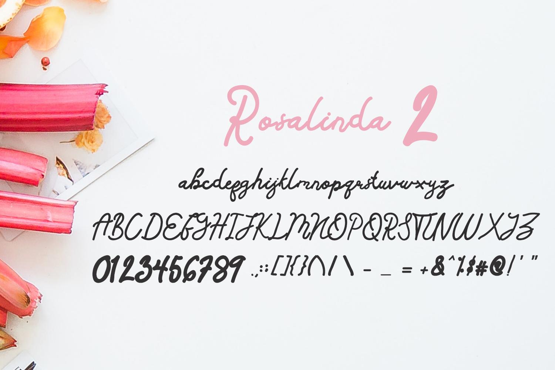 Rosalinda Three Font example image 6