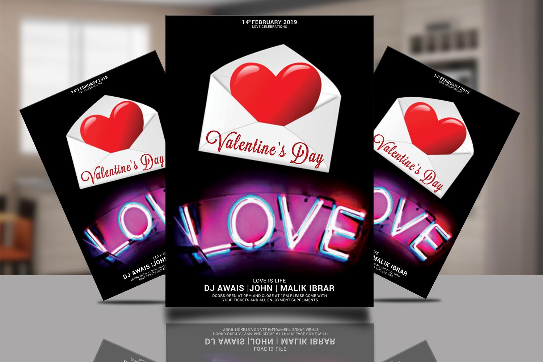 Valentines Day Flyer Bundle example image 9