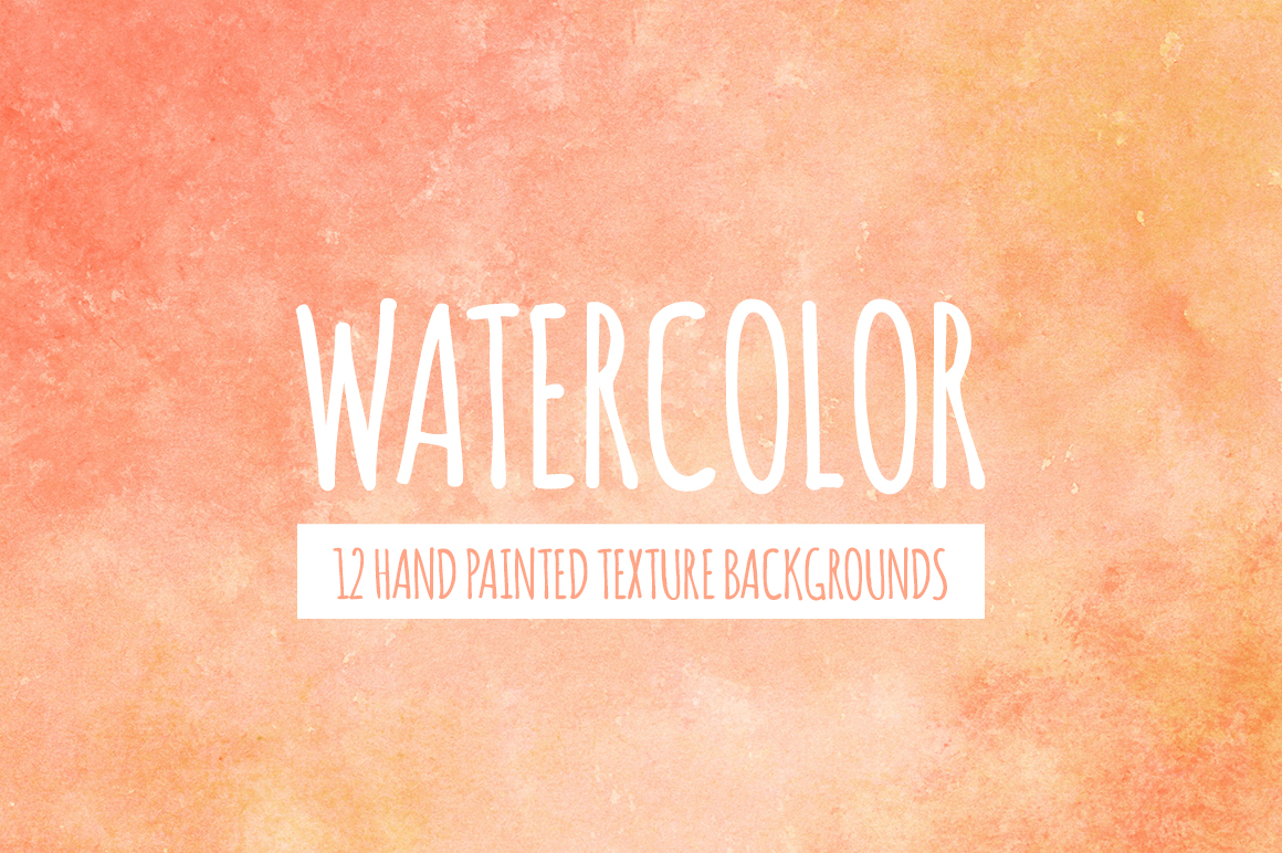 Watercolor Texture Bundle + Bonus example image 6
