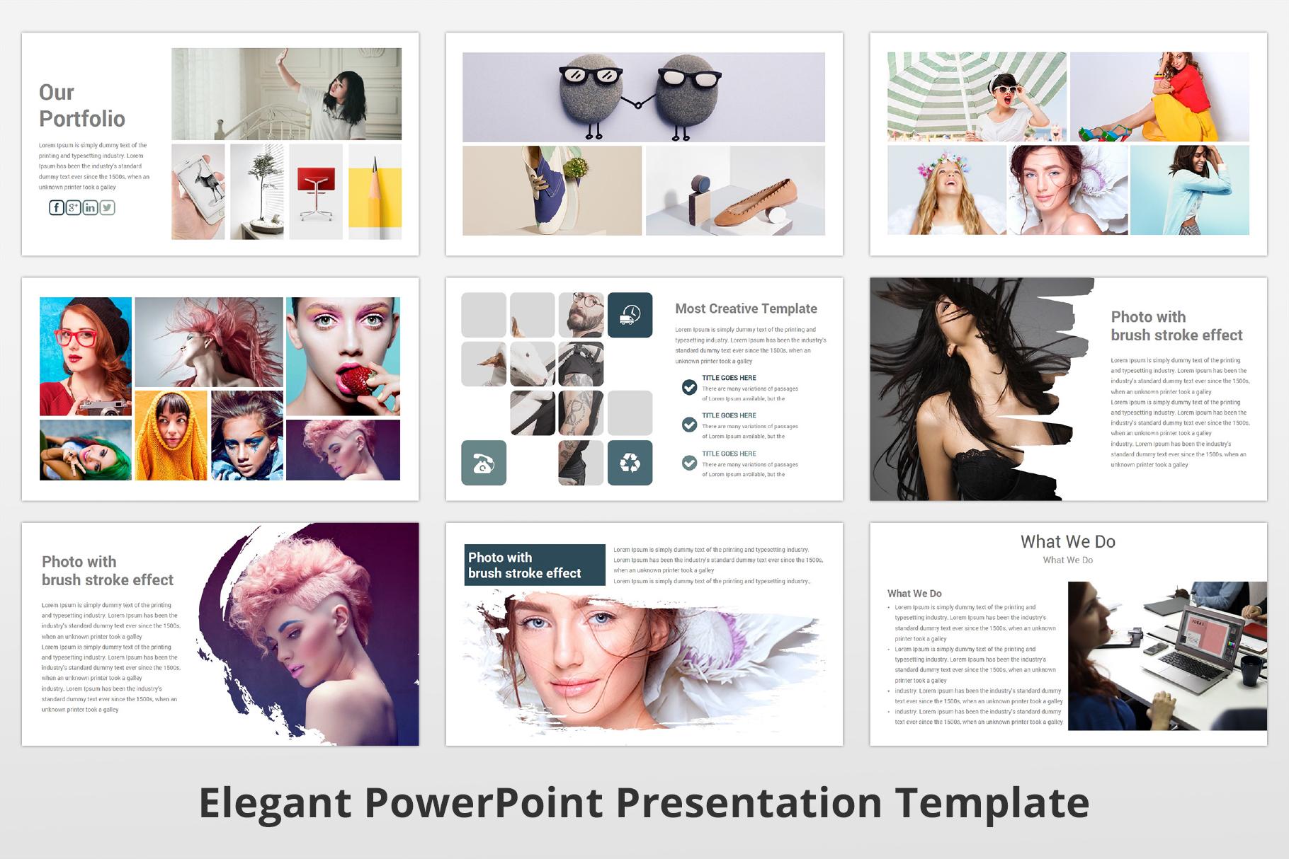 Elegant multipurpose PowerPoint Presentation Template example image 9