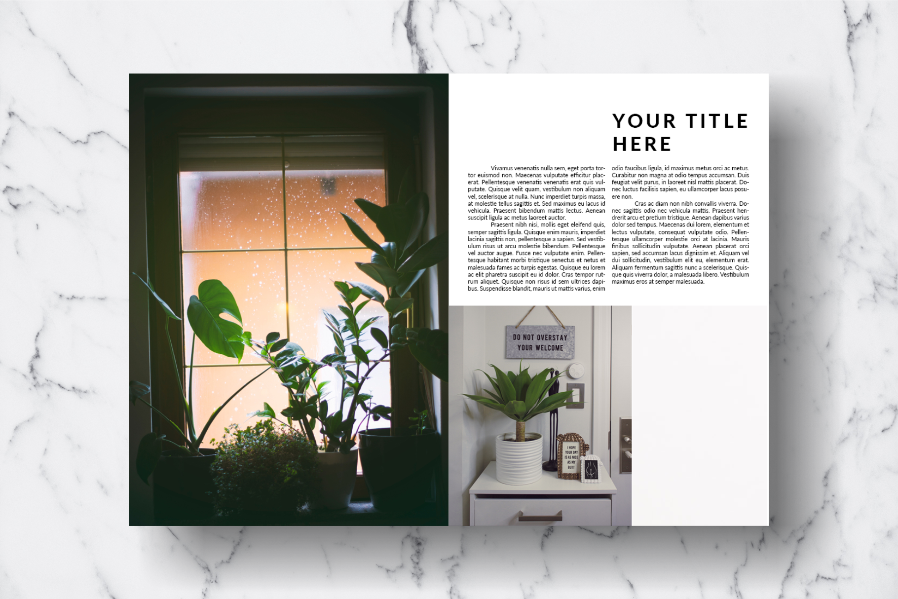 Magazine Template Vol. 14 example image 3