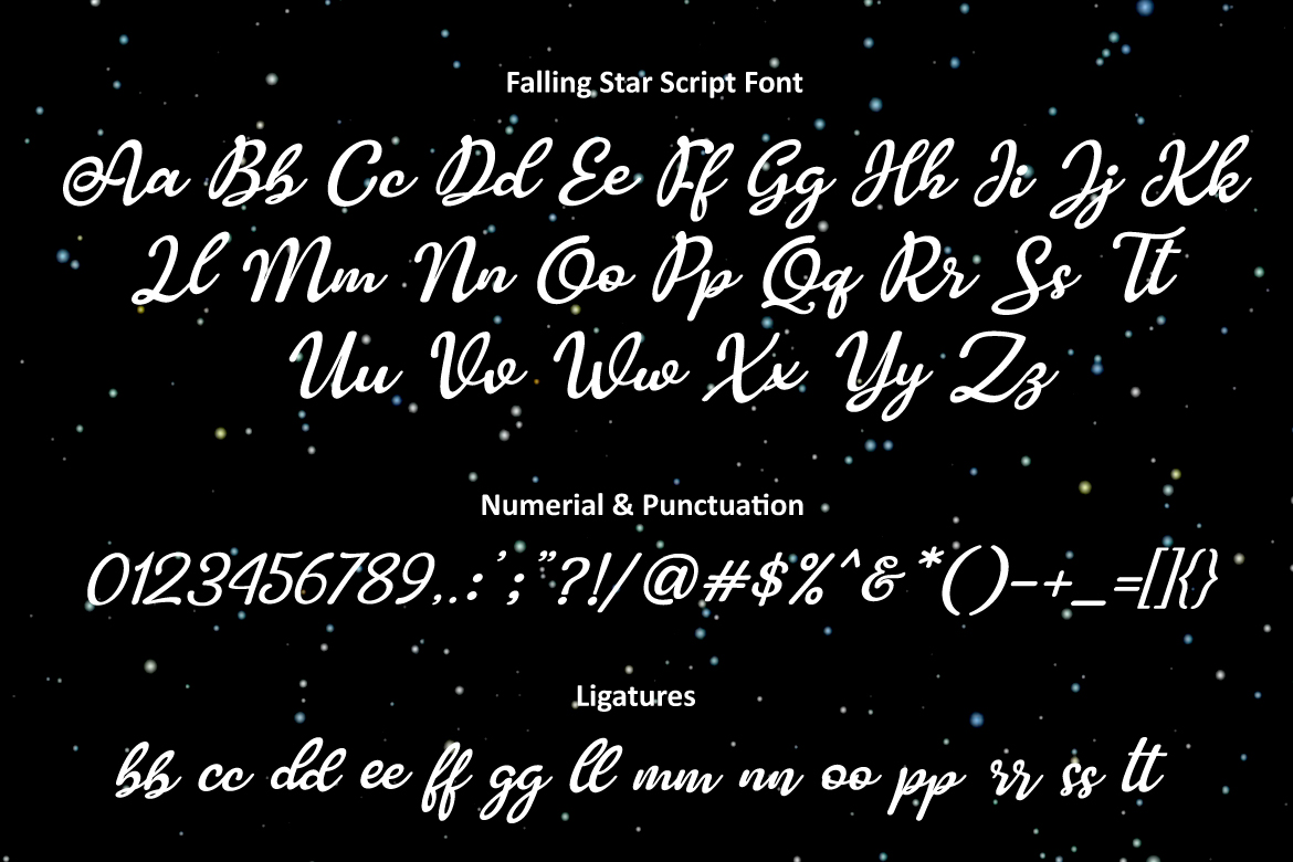 Falling Star example image 2