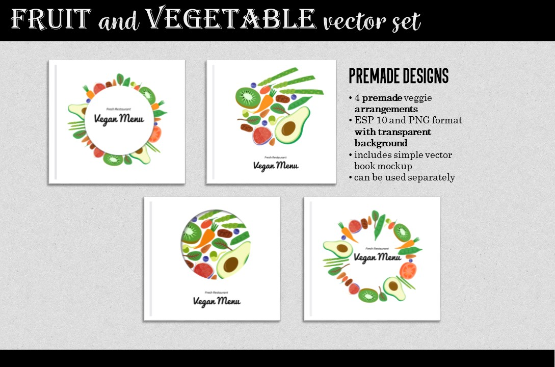 Vegan Design Kit example image 3