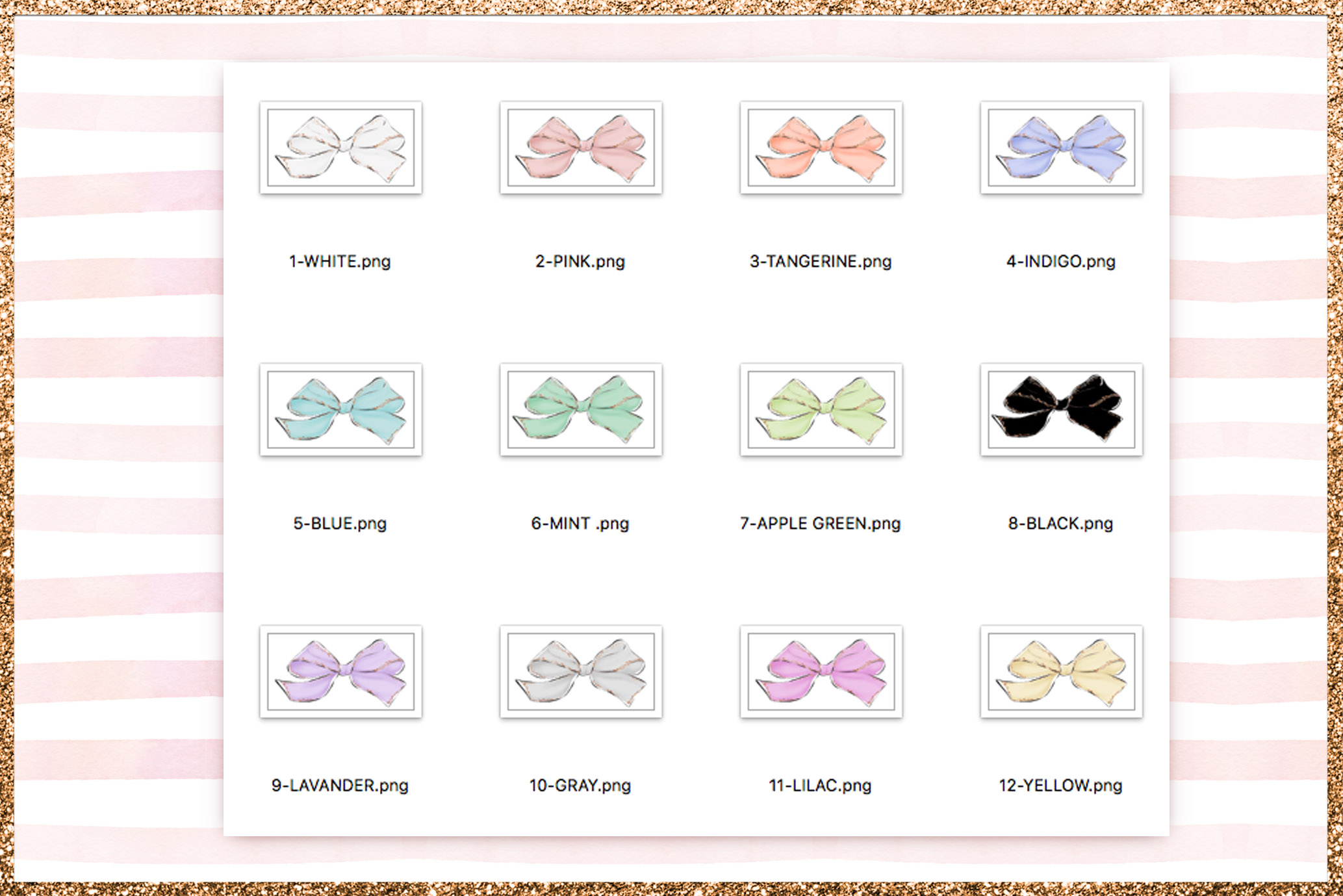 Bows Png Cliparts example image 3