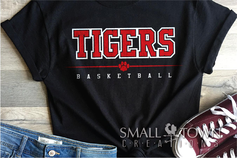 Tigers basketball, tiger mascot, team, PRINT, CUT, DESIGN example image 22