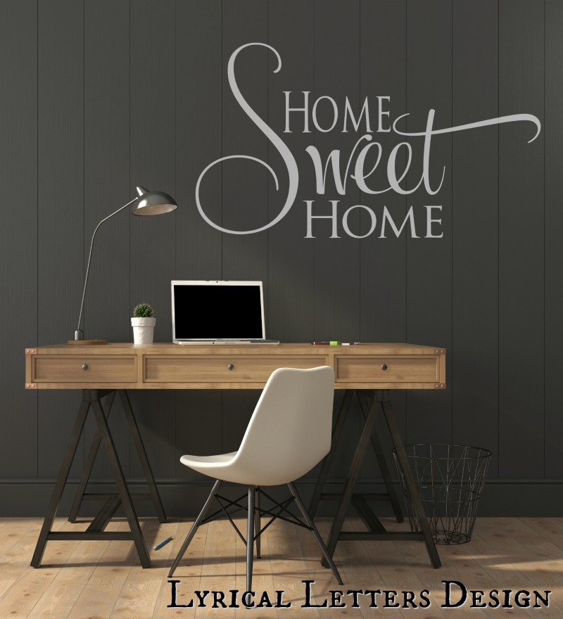 Home Sweet Home SVG DXF Cut File LL025B example image 2