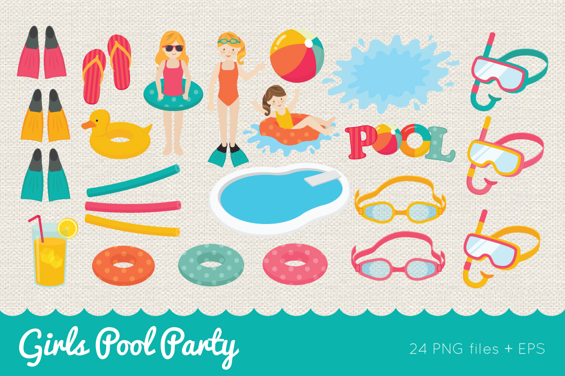 Girls Pool Party example image 2