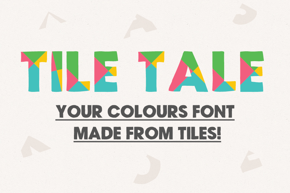 Tile Tale Font System example image 1