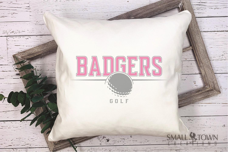 Badger, Badger Golf Team, Golf, Sport, PRINT, CUT & DESIGN example image 4