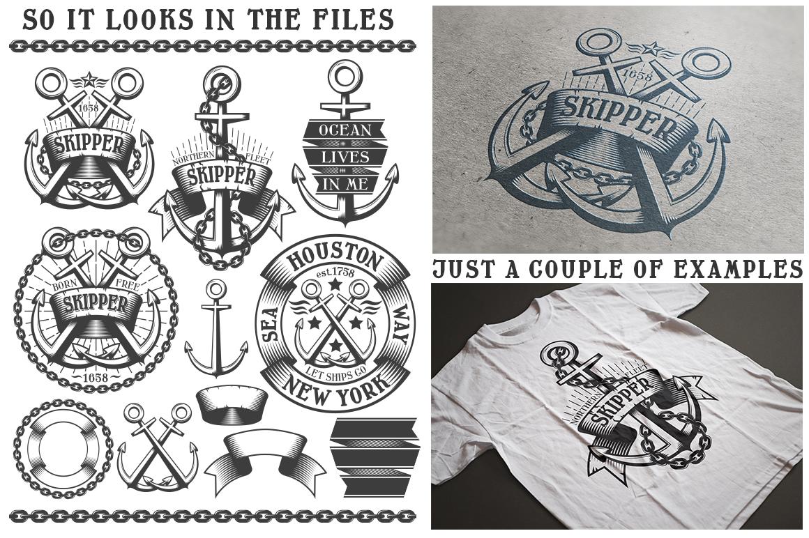 Marine Anchor Logos example image 4