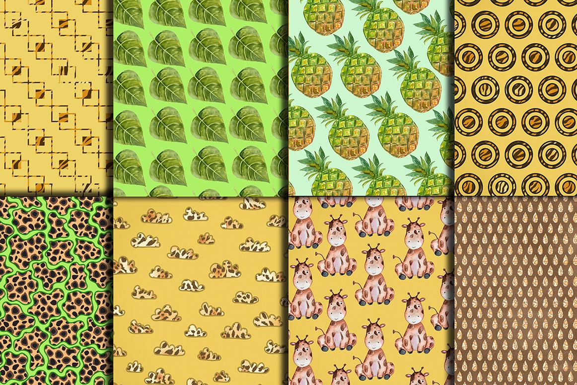 Safari Digital Paper Pack example image 3
