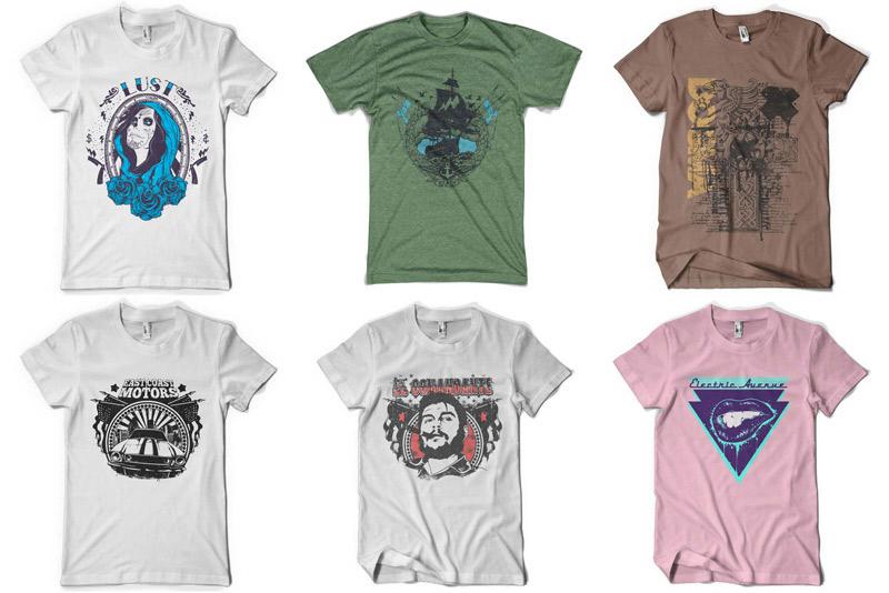 100 Premium T-shirt Designs example image 5
