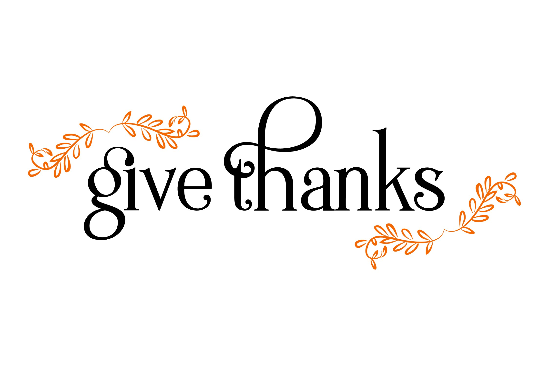 Give Thanks SVG example image 2