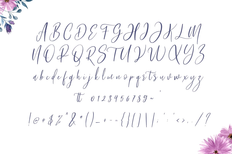 Bashira Brush Script example image 2