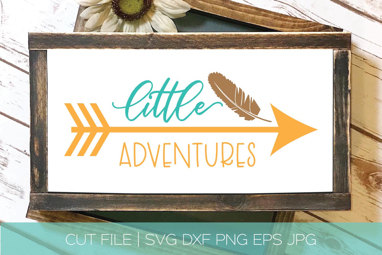 Adventure SVG Bundle| Adventure Arrows Feather Boho SVG DXF example image 9
