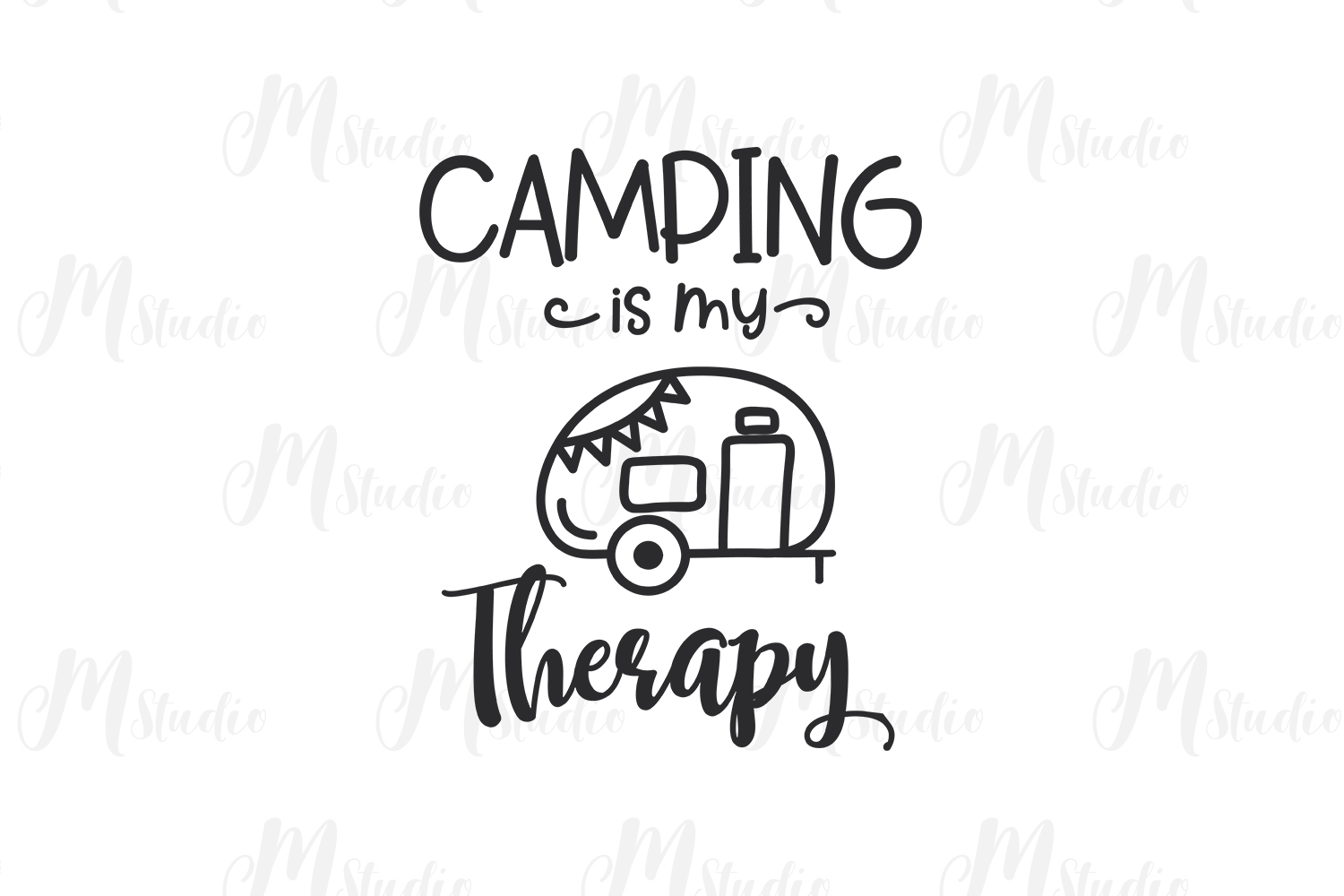 Camping SVG Bundle. example image 14