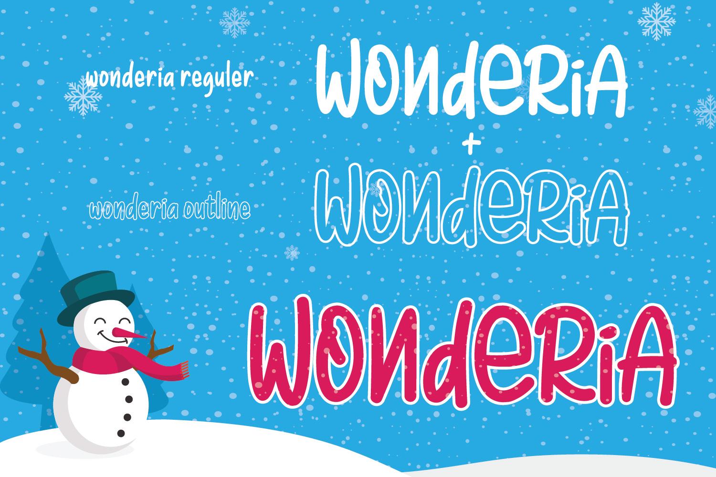 Wonderia example image 3