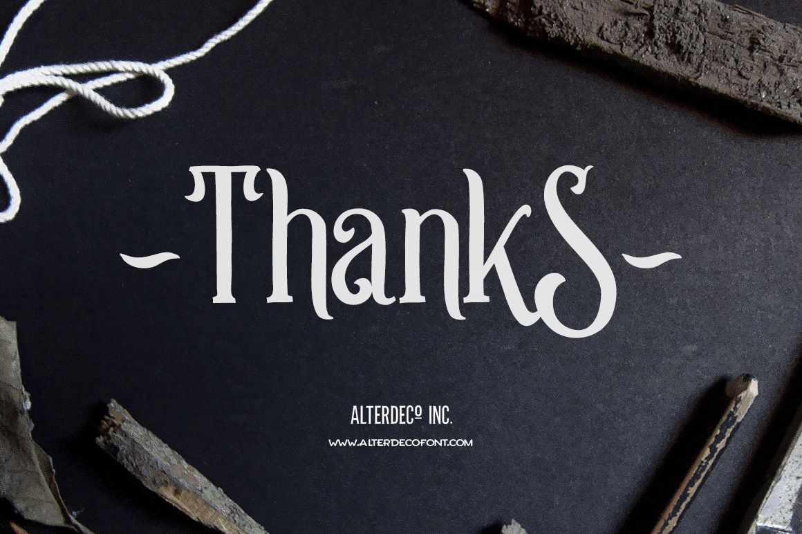 Strongwill Typeface example image 10