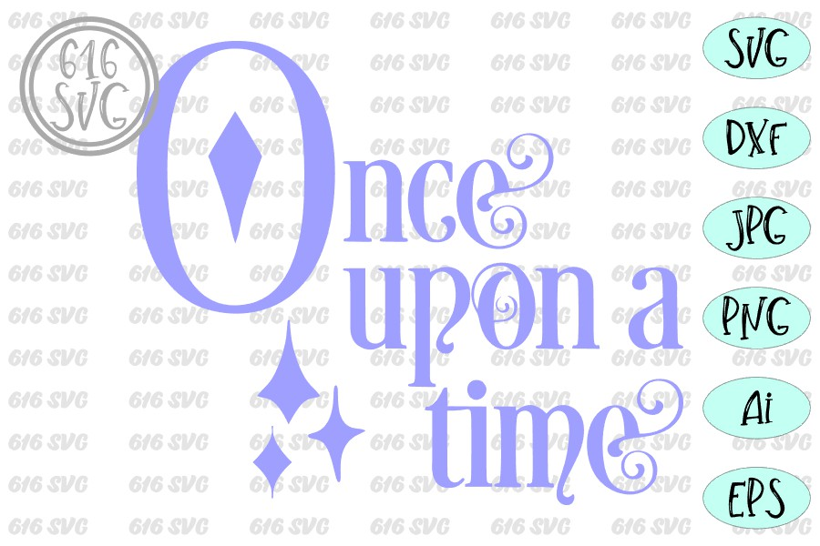 Once upon a time SVG example image 3