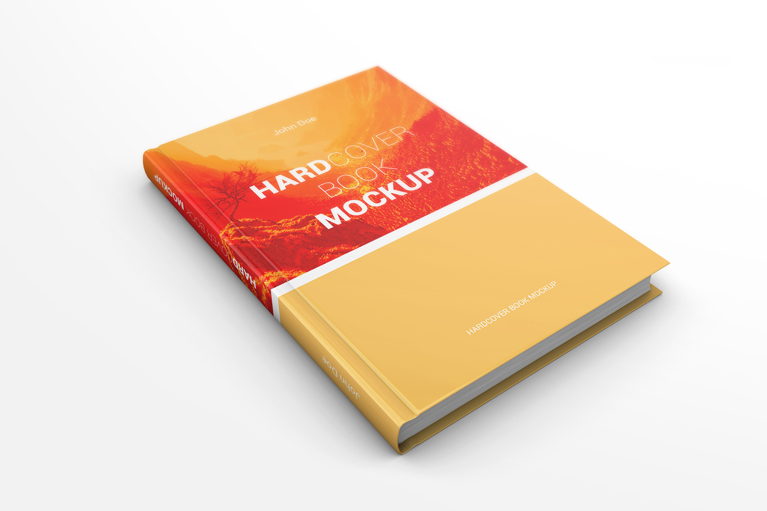Hardcover Book Mockups example image 8