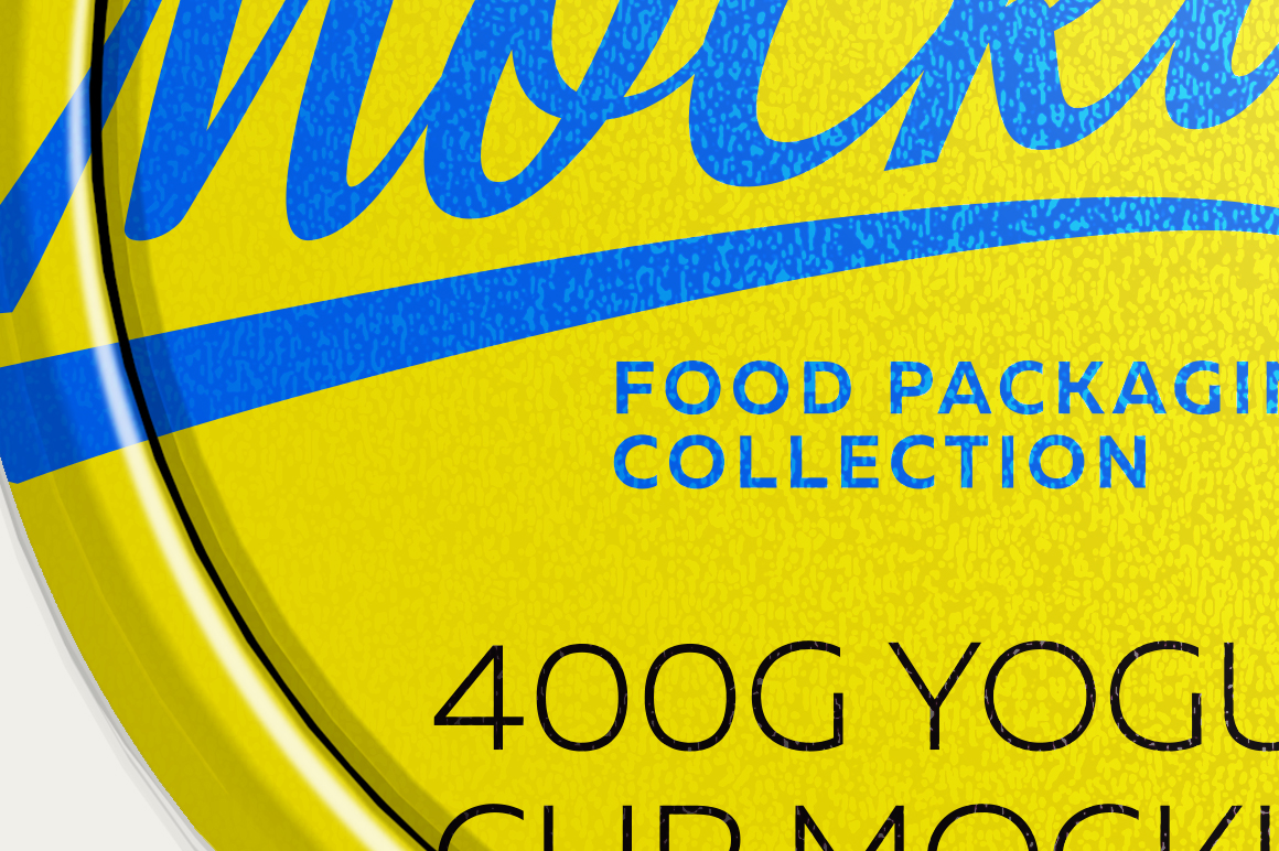 400G YOGURT CUP MOCKUP example image 7