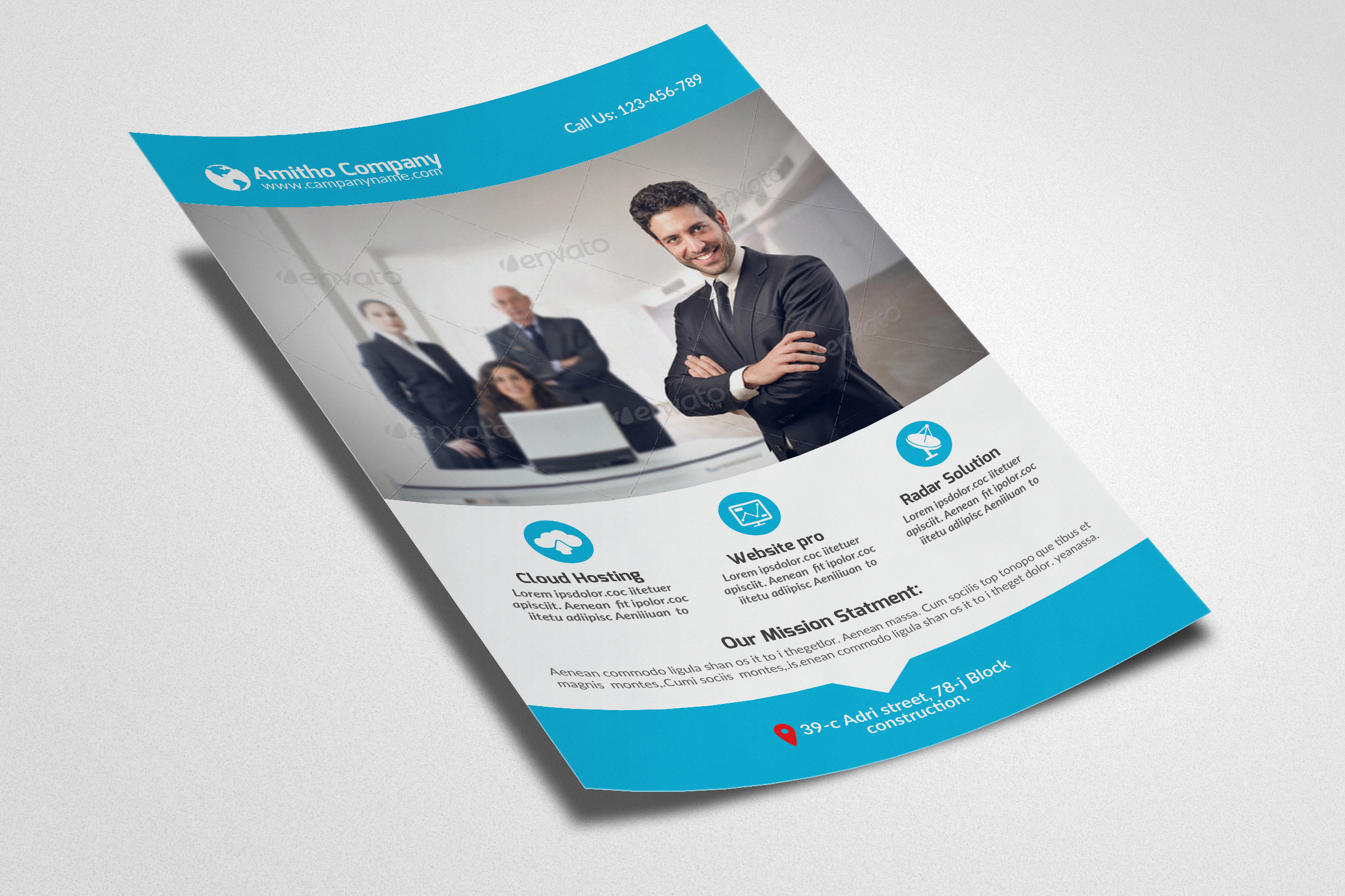 Business Corporate Agency Flyer example image 2