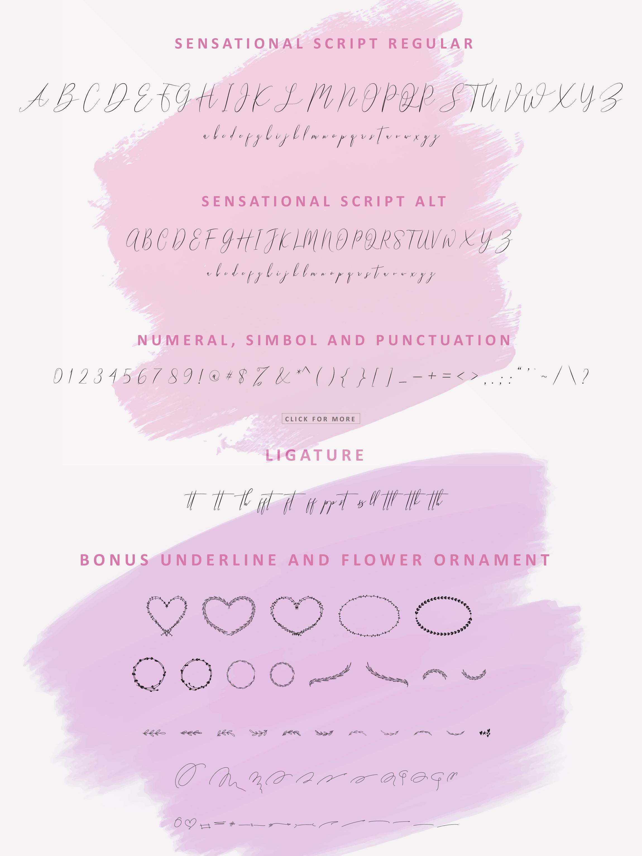 NicoleWhite Signature Font -Big Update - example image 10