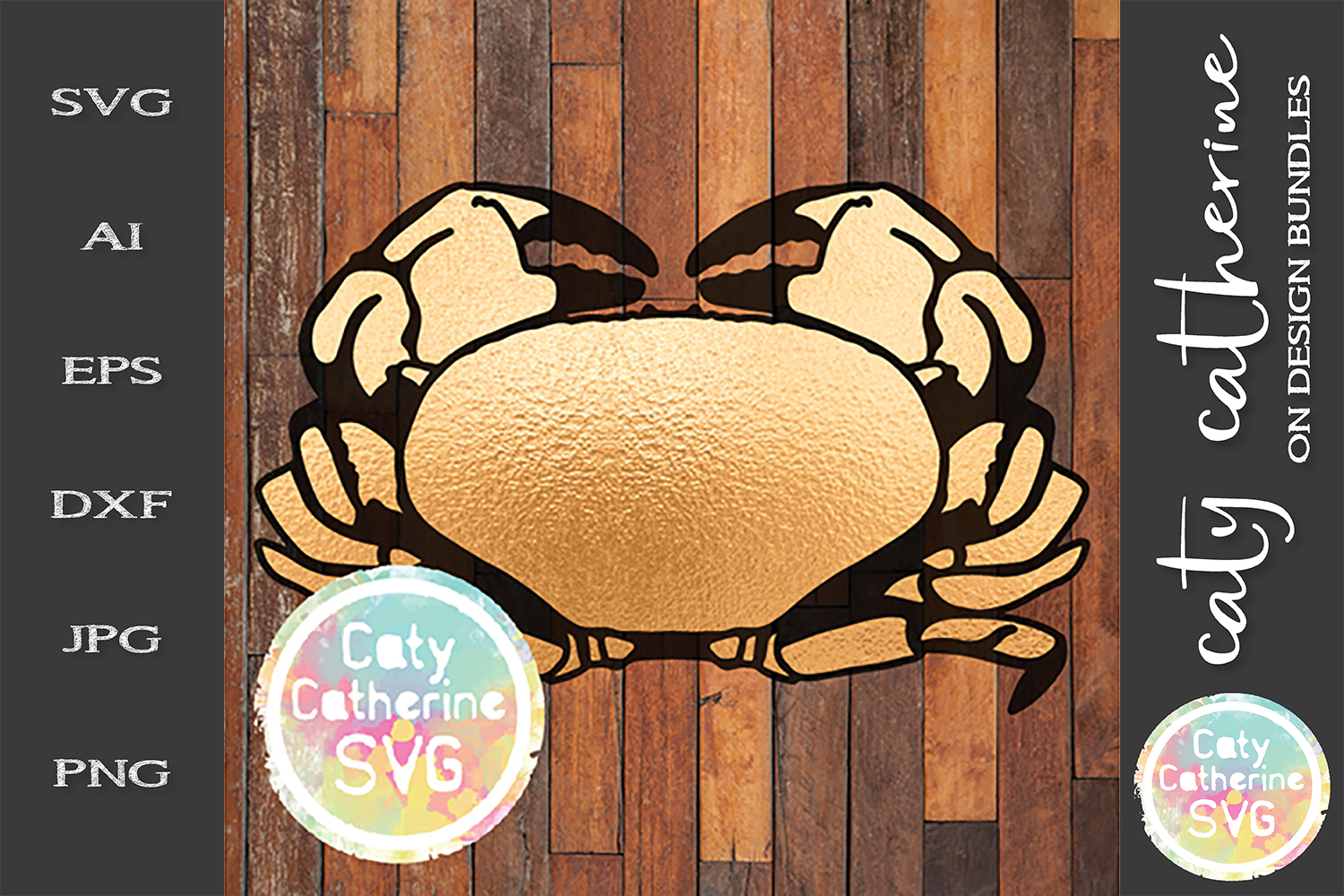 Crab Cancer SVG Zodiac Cut File example image 1