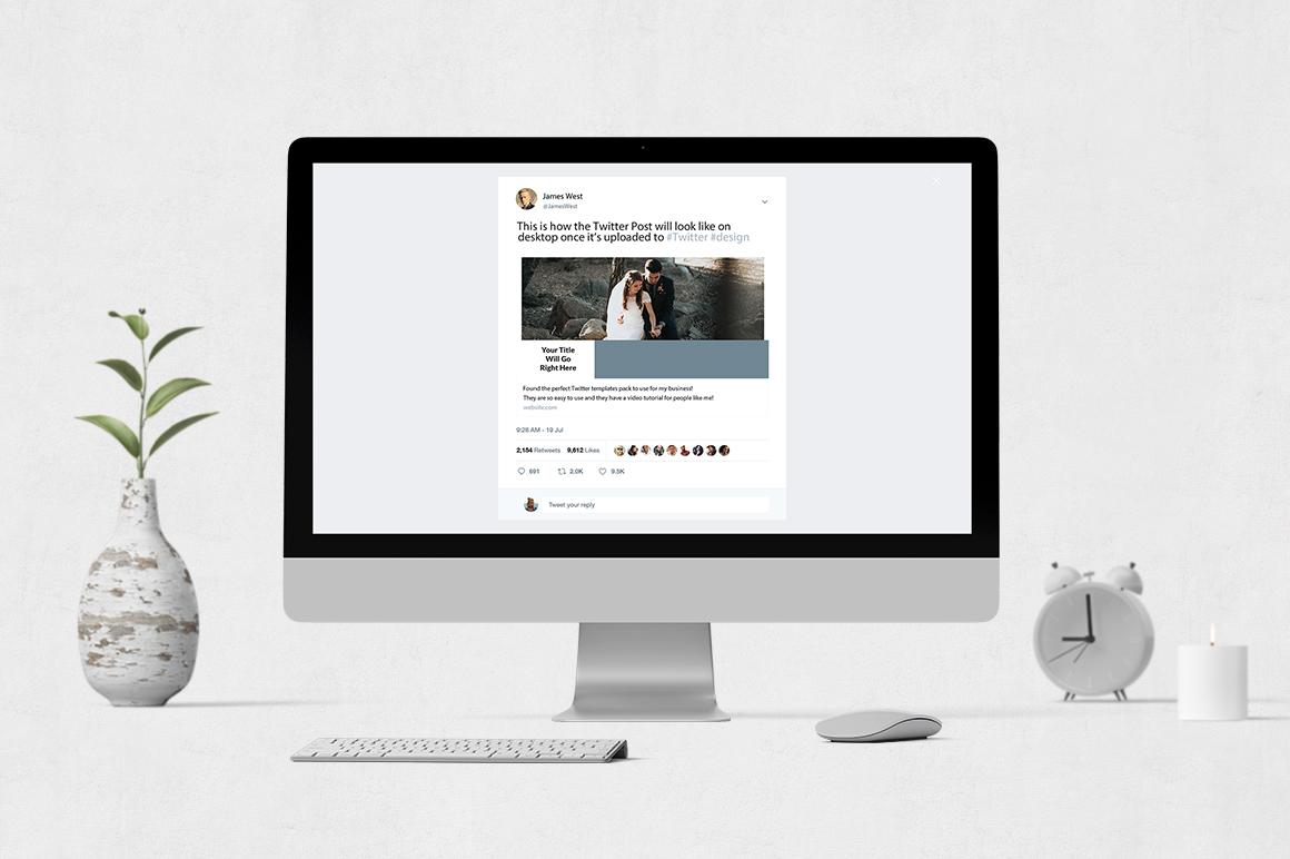 Wedding Twitter Posts example image 4