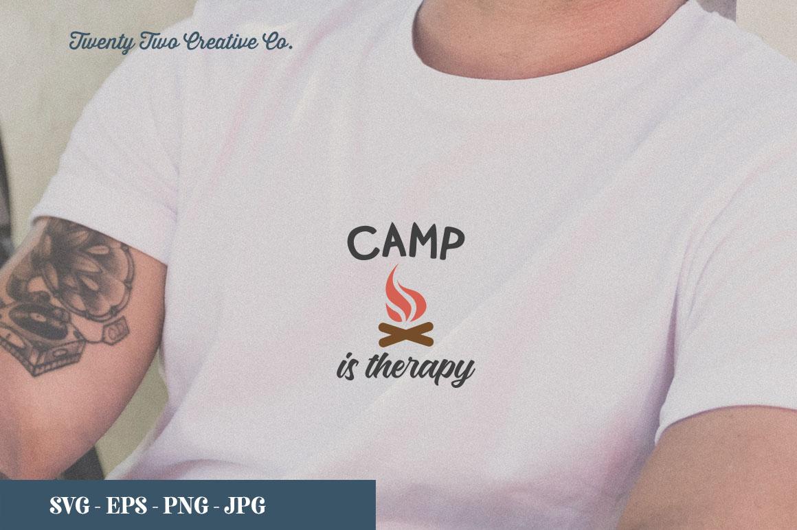 Camping SVG Bundle   SVG, EPS, PNG, JPG example image 13