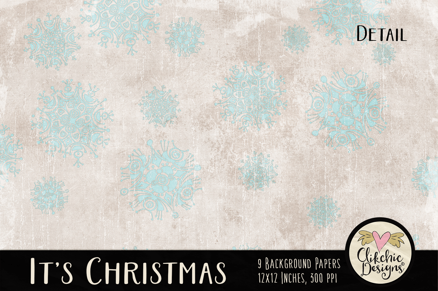 Christmas Backgrounds - Christmas Digital Papers Textures example image 5