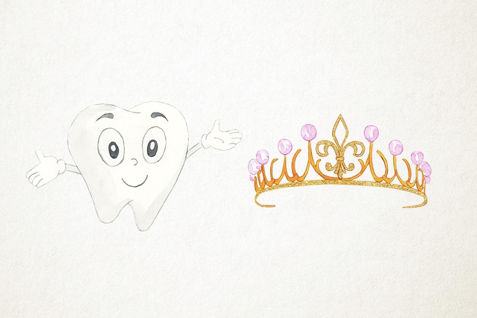 Tooth Fairy Clipart, Teeth Clipart, Tooth Fairy Clip Art example image 4