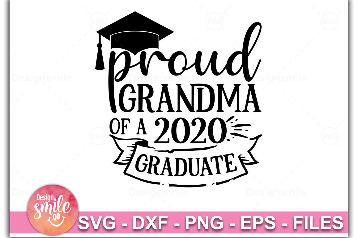 Proud Grandma Of A 2020 Graduate SVG |Graduation Svg example image 1