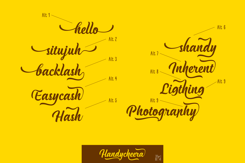Handycheera example image 2
