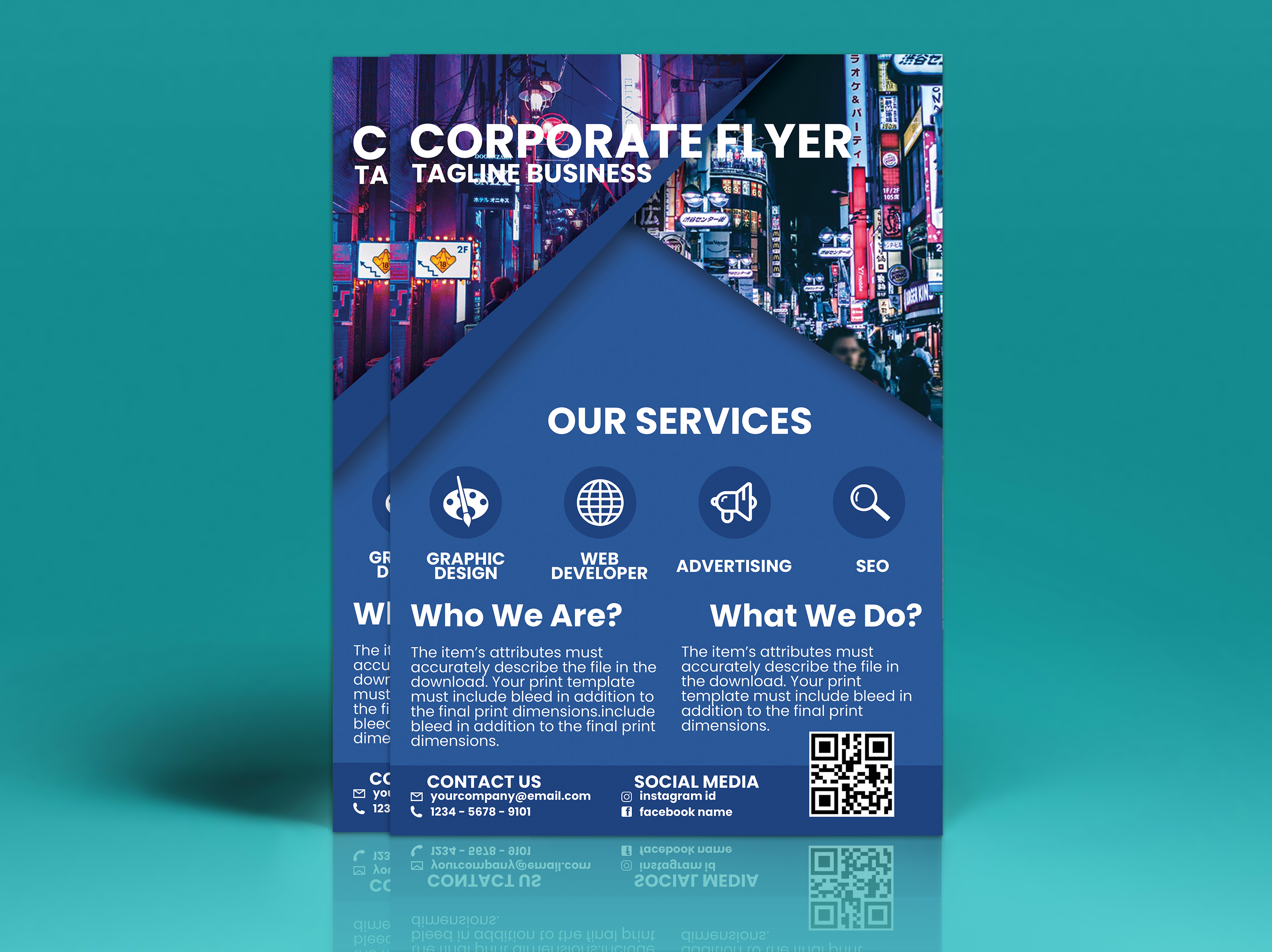 Corporate Flyer Vol. 3 example image 2