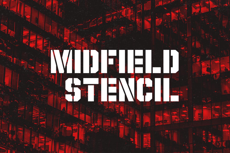 Midfield Stencil example image 1