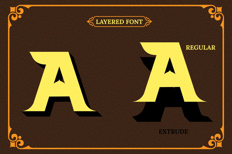 Barong Font and Bonus example image 8