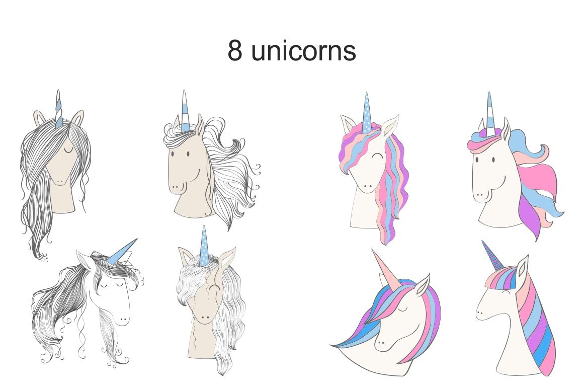 Magic Unicorns, kit example image 2