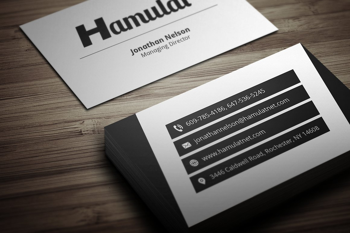 Modern business card 4 by fancy fonts design bundles modern business card 4 example image 2 reheart Gallery