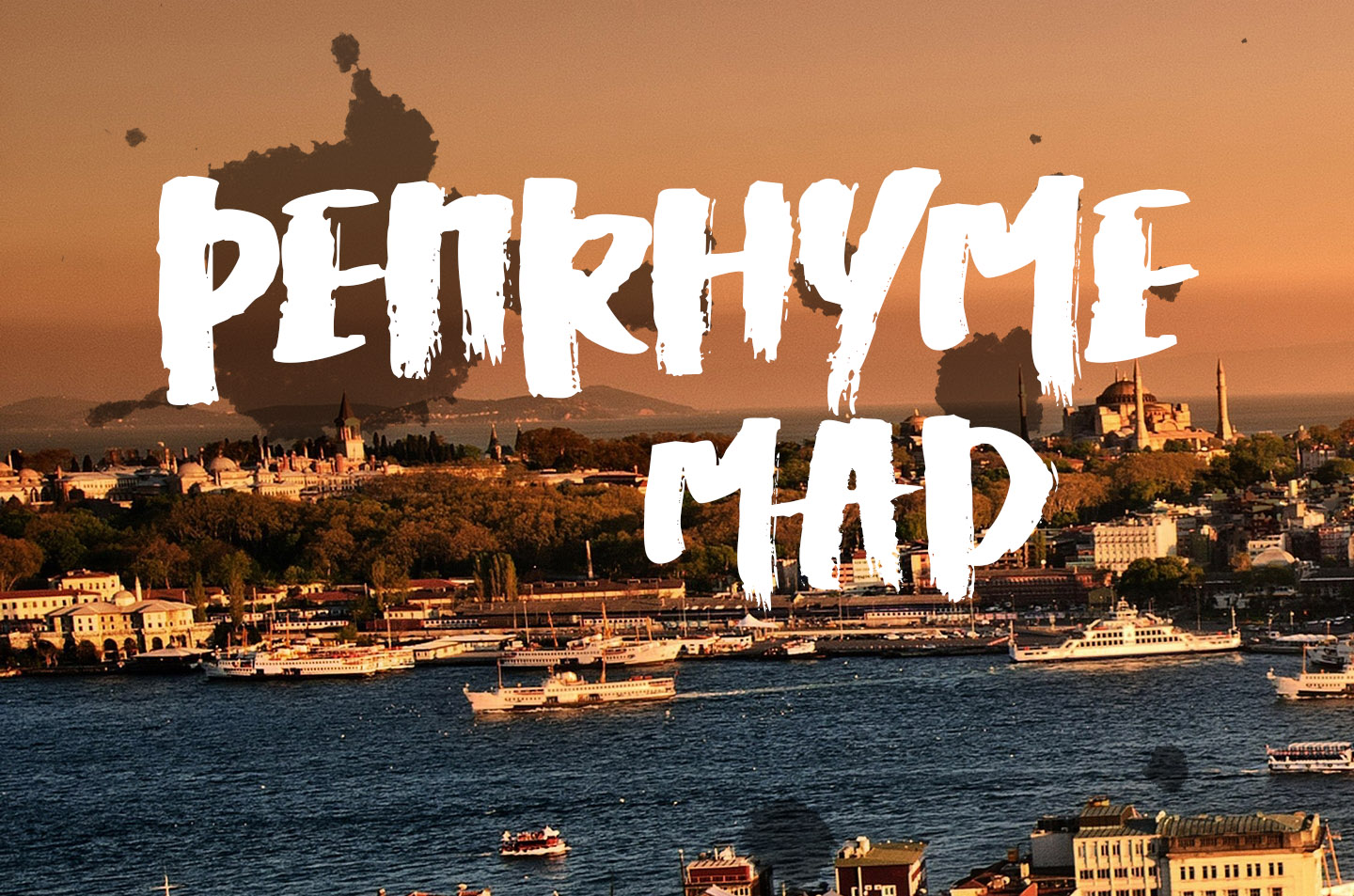 Penrhyme Calligraphy Font example image 4