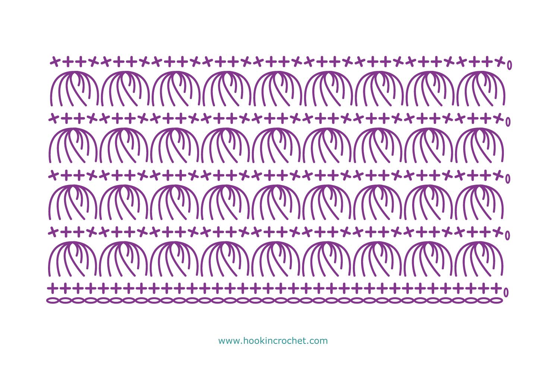HookinCrochet Symbols 2 Font Software example image 3