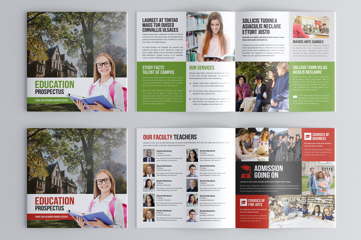 Education Prospectus Brochure Bundle example image 12