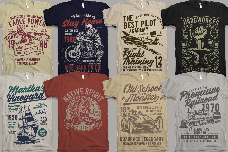 25 Premium Tshirt Designs Big Bundle 5 example image 3