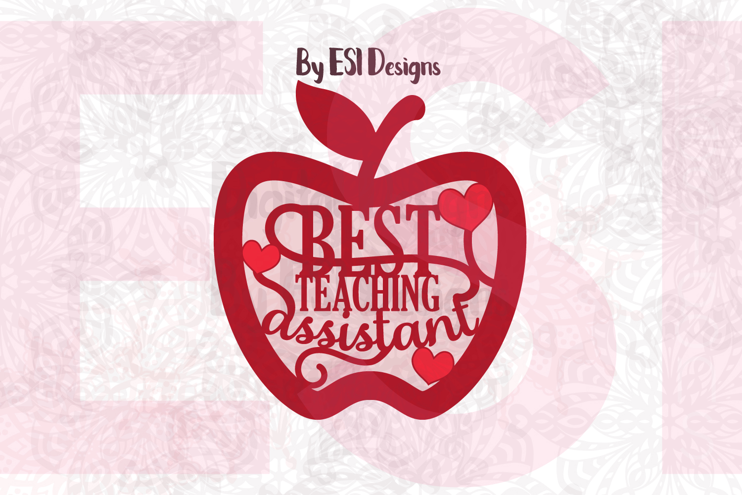 Best Teaching Assistant Apple Design example image 1