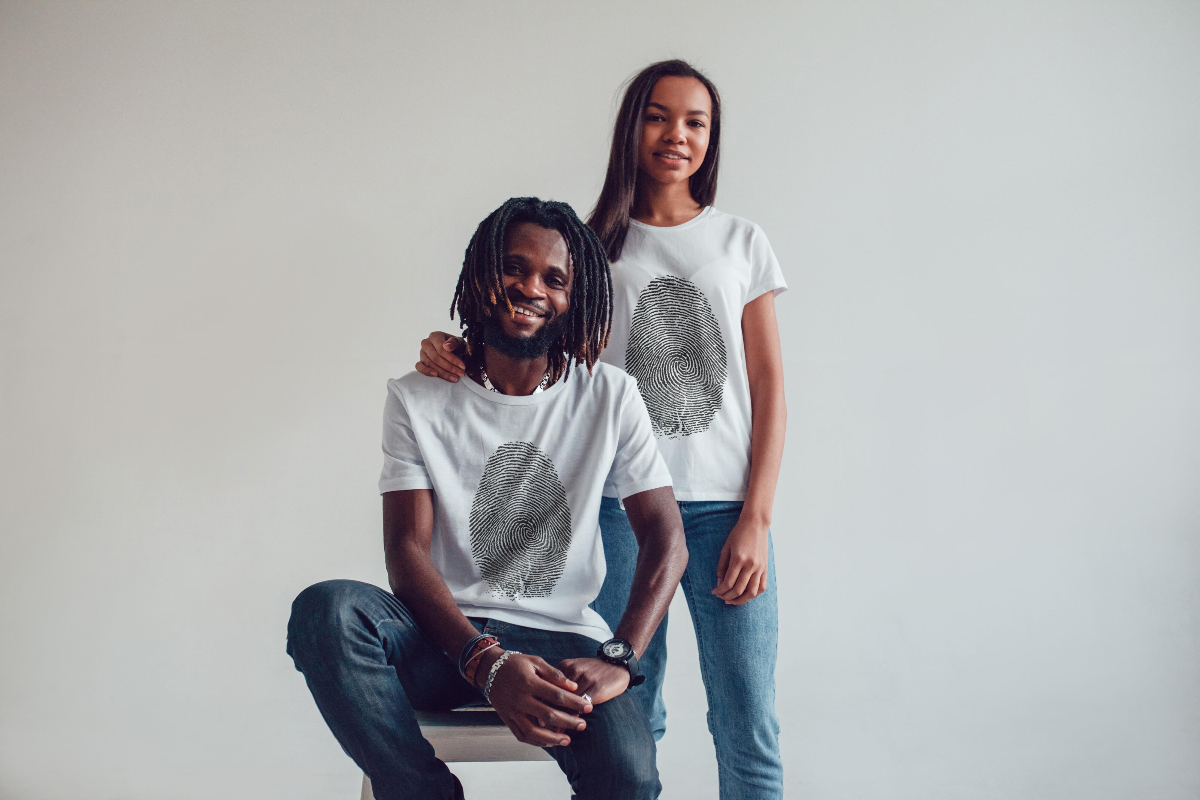 T-Shirt Mock-Up 2018 #1 example image 3