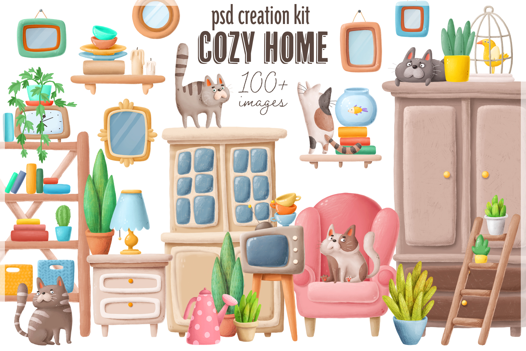 Cozy Home creation kit example image 14
