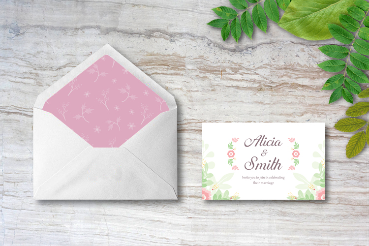 Floral Wedding Invitations example image 4