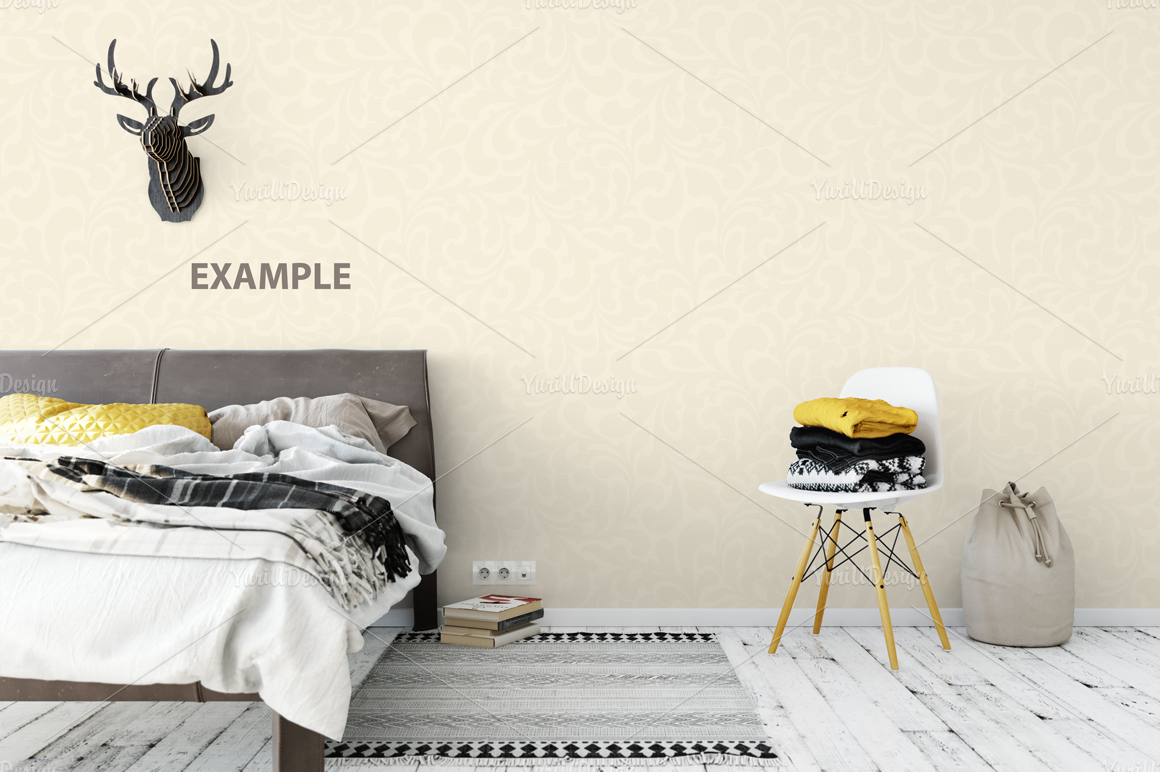Wall Mockup - Bundle Vol. 1 example image 21